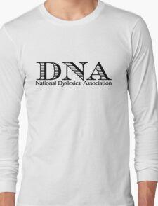DNA National Dyslexics' Association Long Sleeve T-Shirt