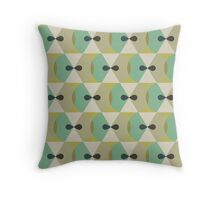 Hexagreen Throw Pillow
