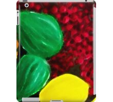 Colorful Bowl Of Fruit Two iPad Case/Skin