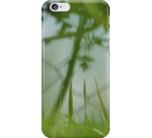 Depth of (Grass) Field iPhone Case/Skin