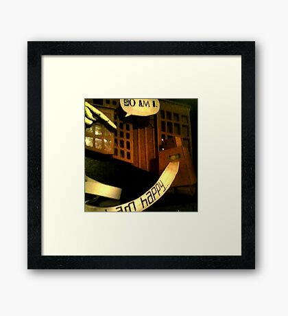Cell 2 Dialogue Framed Print