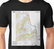 USGS TOPO Map Alaska AK Bradfield Canal A-2 354712 2000 63360 Unisex T-Shirt