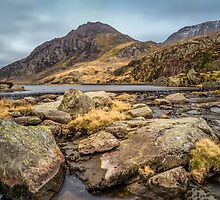 Tryfan Mountain by Adrian Evans