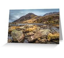 Tryfan Mountain Greeting Card