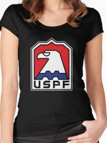 USPF New York Women's Fitted Scoop T-Shirt
