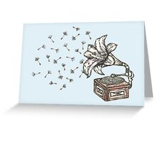 Natures Sound Greeting Card