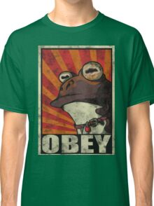 OBEY THE HYPNOTOAD! Classic T-Shirt