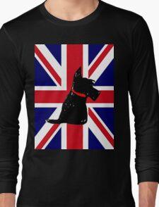 Scottie Dog Union Jack Long Sleeve T-Shirt