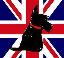 Scottie Dog Union Jack by archyscottie