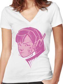 D-Va Women's Fitted V-Neck T-Shirt