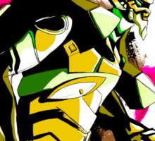 SHINJI GET IN THE ROBOT ... again Sticker