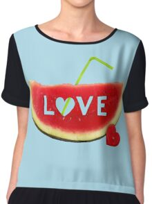 from Summer with LOVE Chiffon Top