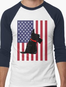 Scottie Dog Men's Baseball ¾ T-Shirt
