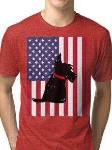Scottie Dog Tri-blend T-Shirt