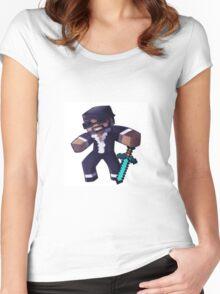 CaptainSparklez Women's Fitted Scoop T-Shirt