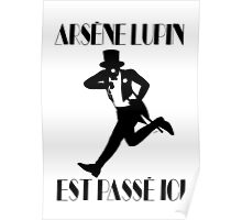 Arsène Lupin est passé ici Poster