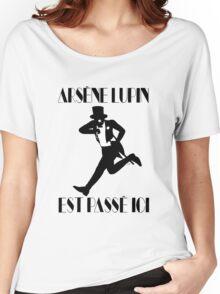 Arsène Lupin est passé ici Women's Relaxed Fit T-Shirt