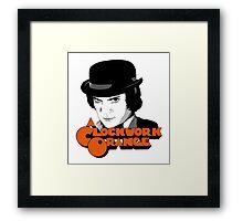 A Clockwork Orange and Alex Framed Print