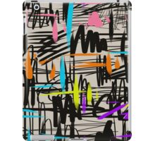 Playful scribbles iPad Case/Skin