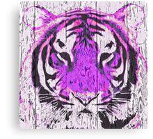 Violet Tiger Canvas Print