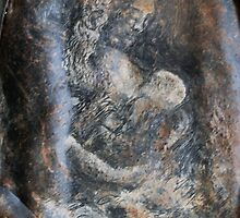 """Mother & Child: Blood, Sweat and Tears"" by Living Earth Art Gallery"