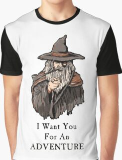 I want you for an adventure Graphic T-Shirt