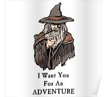 I want you for an adventure Poster