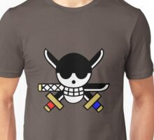 One Piece - Roronoa Zoro Pirate Flag Unisex T-Shirt