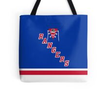 New York Rangers Home Jersey Tote Bag