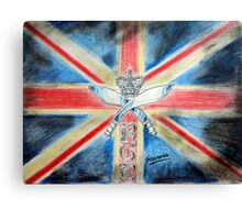 I am british  Canvas Print