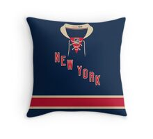 New York Rangers Alternate Jersey Throw Pillow