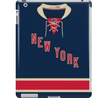 New York Rangers Alternate Jersey iPad Case/Skin
