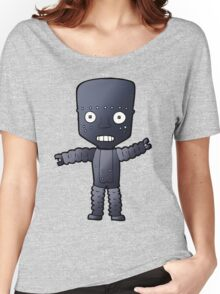 Robot says Cheese  Women's Relaxed Fit T-Shirt