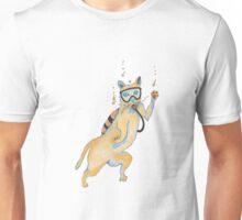scuba cat Unisex T-Shirt