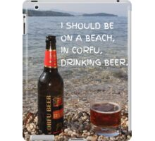 CORFU BEER iPad Case/Skin