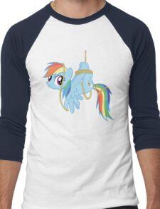 Tied-up pony Men's Baseball ¾ T-Shirt