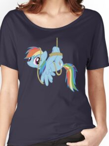 Tied-up pony Women's Relaxed Fit T-Shirt