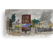 Bow Road Canvas Print