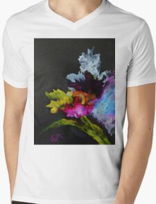 Iris Color Mens V-Neck T-Shirt