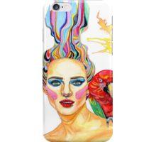 Carmen - A tropical mind iPhone Case/Skin