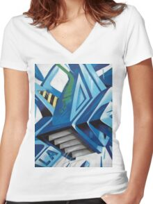 Urban 23 Women's Fitted V-Neck T-Shirt