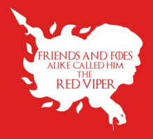 Oberyn Martell- Red Viper (White) by mersanto