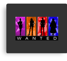 Wanted by Interpol Canvas Print
