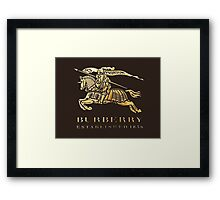 BURBERRY Framed Print