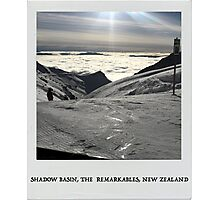 Shadow Basin, The Remarkables, New Zealand  Photographic Print