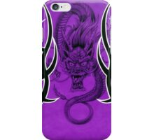 Tribal Dragon Purple iPhone Case/Skin