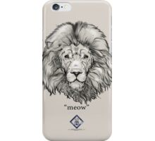 """""""meow"""" iPhone Case/Skin"""