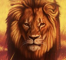 Lion The King of All Animals Sticker