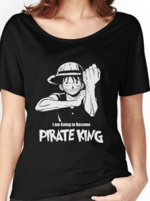 One Piece - Monkey D. Luffy Women's Relaxed Fit T-Shirt