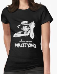 One Piece - Monkey D. Luffy Womens Fitted T-Shirt